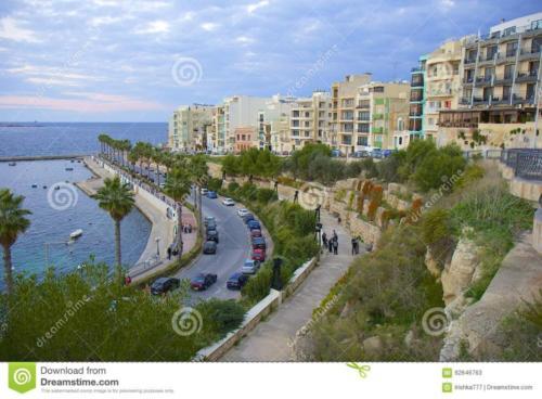 Malta Wedding Planner Rosemarie St Pauls promenade