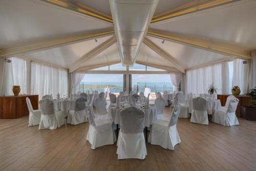 indoor terraced wedding venue malta